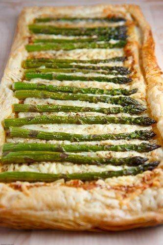 Asparagus And Gruyere Tart Recipes — Dishmaps