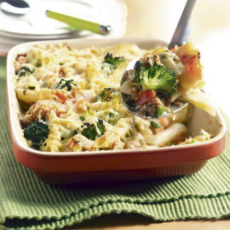 Leaving-Home Penne Rigate With Broccoli Recipes — Dishmaps
