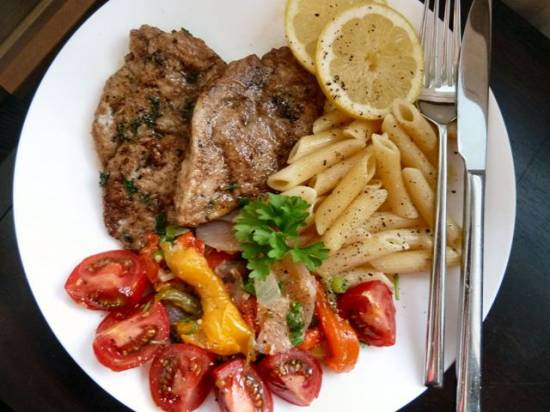 Scaloppine al limone 3