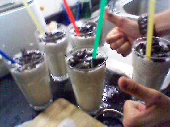 Oreo Milkshakes