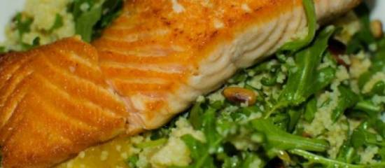 Couscous met Zalm en Rucola 2