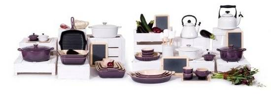 Le Creuset goes paars
