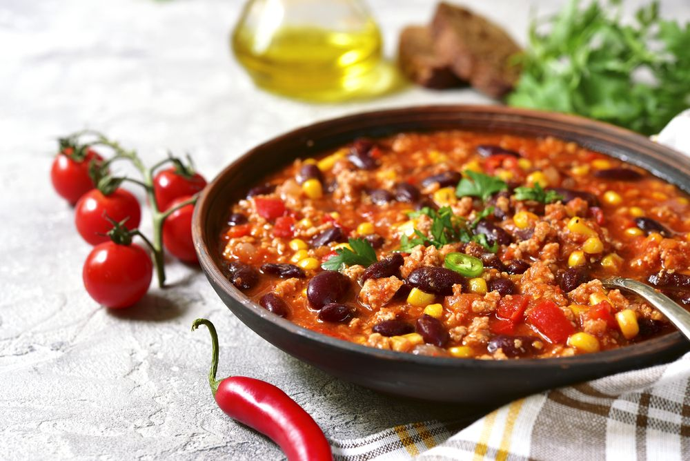 8x kruidige chili; het perfecte comfort food