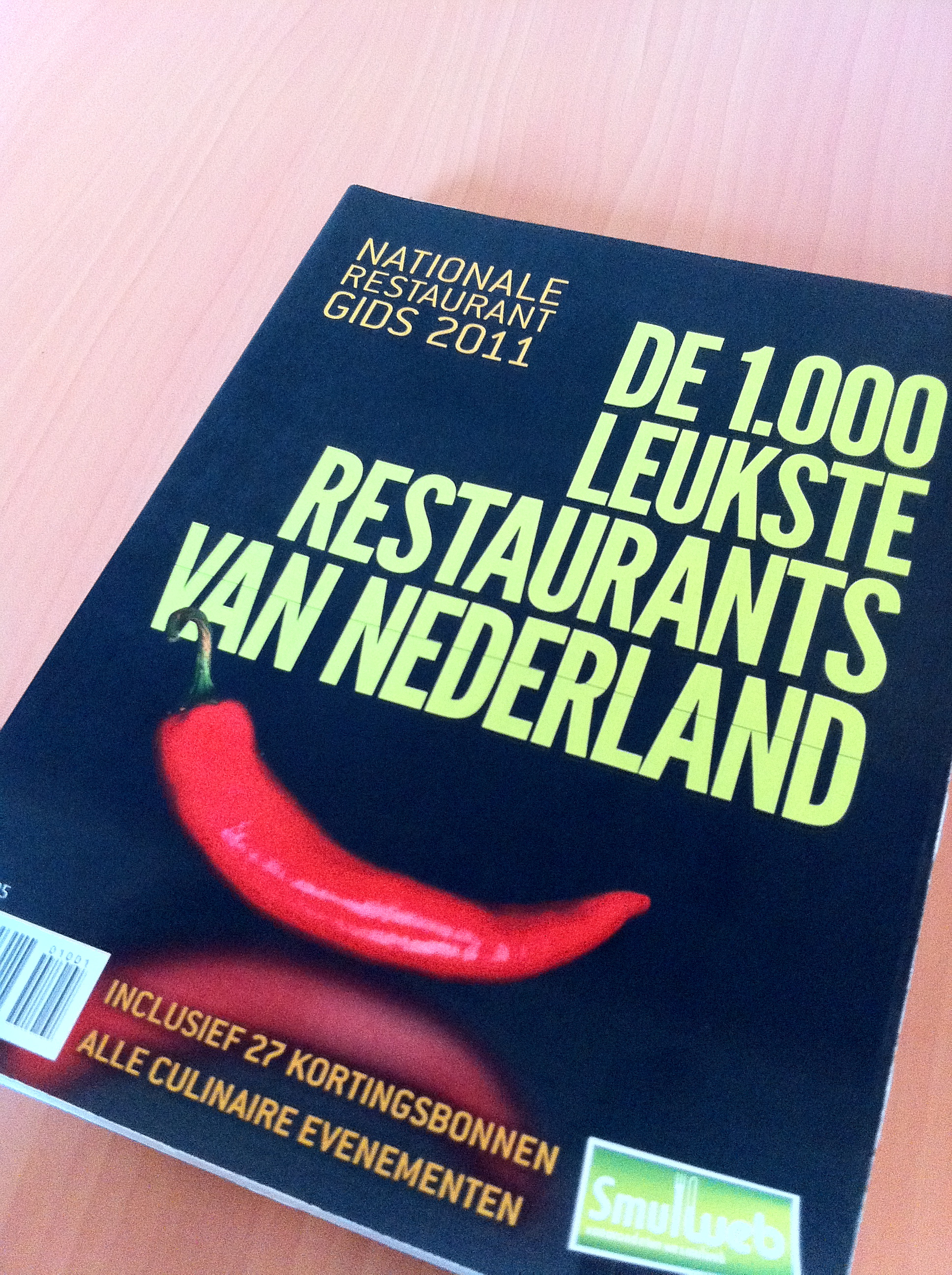 Nationale Restaurantgids 2011