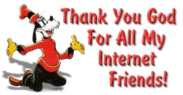 thanks for internet friends
