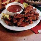 Chicken Wings & hot dipping sauce