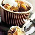 Broodpudding met Licor 43 saus