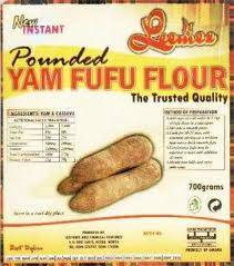 how to make pounded yam flour