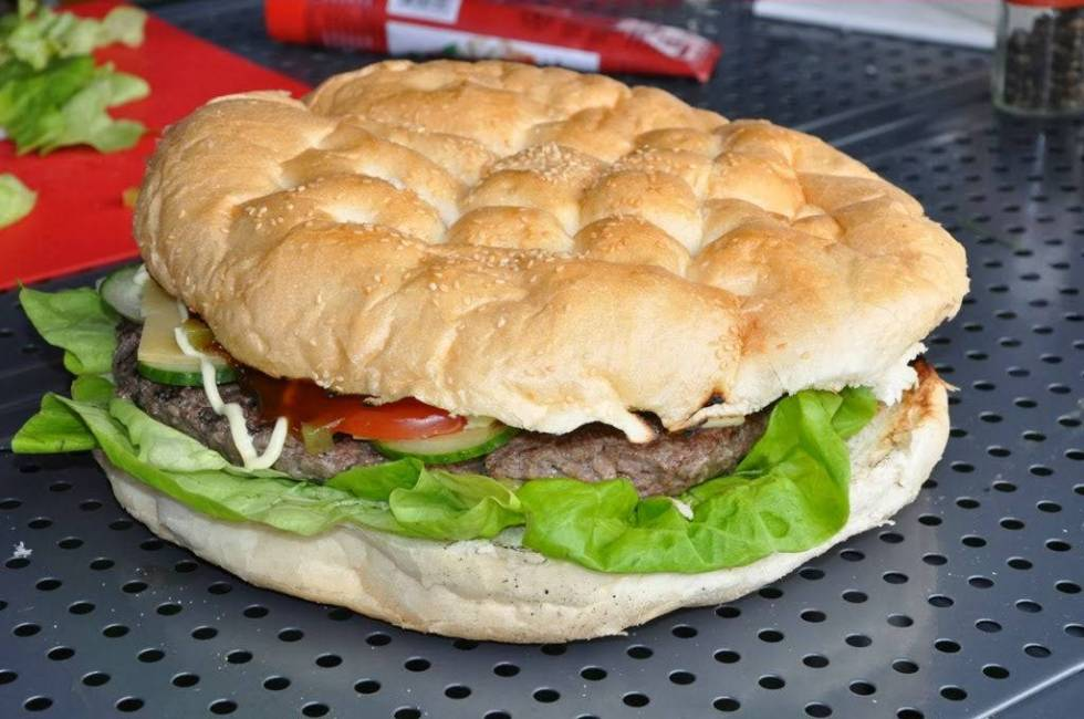turks brood hamburger