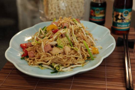 Chow Mein (Chinese noedels)