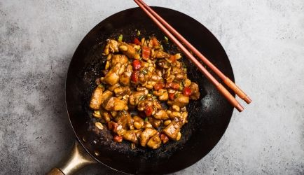 Jamie Olivers Kung Pao chicken