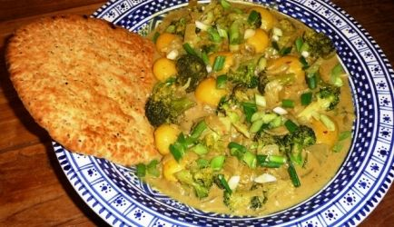 Broccoli curry met Vadouvan