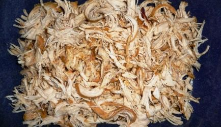 Carnitas de Pollo (Pulled Chicken)