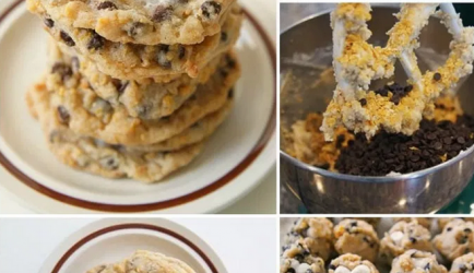 Cornflake marshmallow chocolate chip cookies